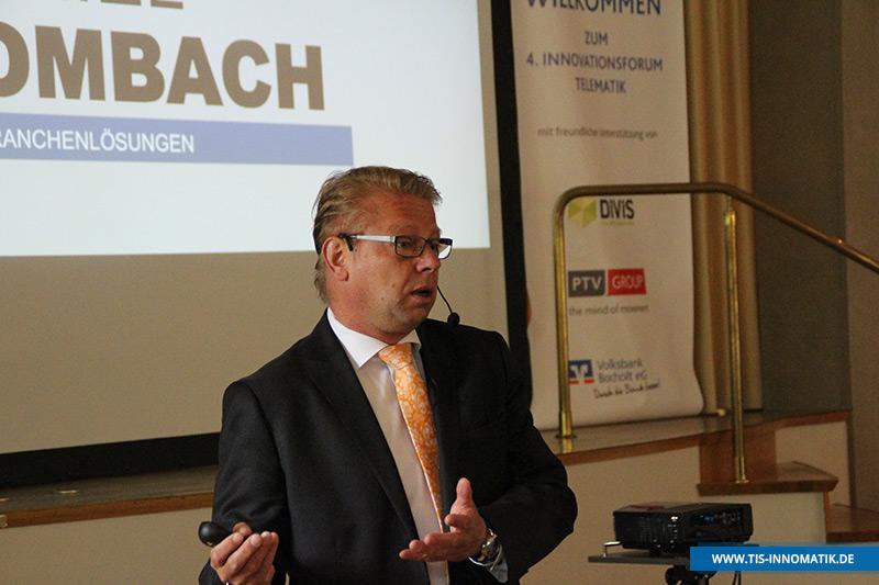 Gastredner Daniel Dombach auf der InnoMATIK 2016 | TIS GmbH