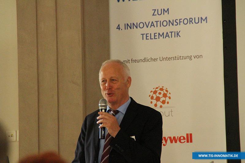 Josef Bielefeld auf der InnoMATIK 2016 | TIS GmbH