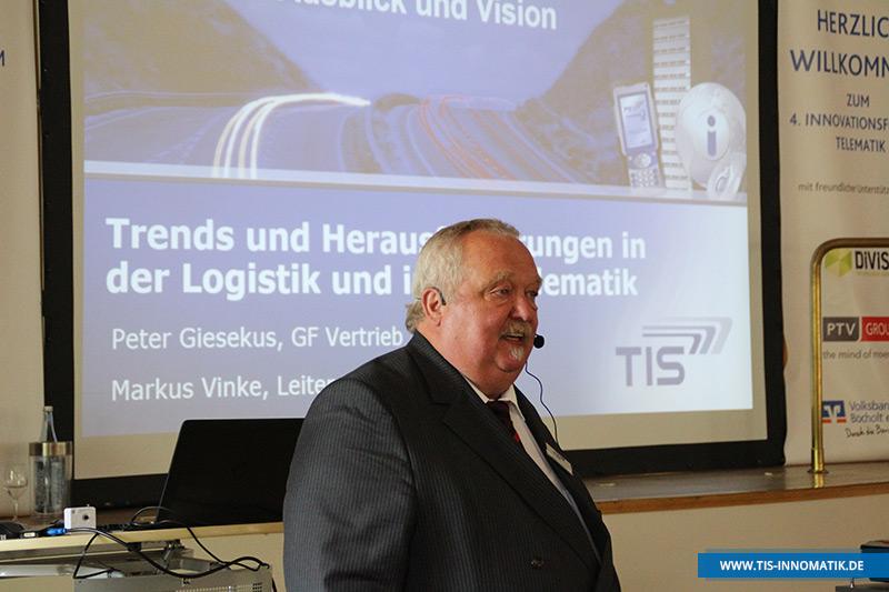 Peter Giesekus auf der InnoMATIK 2016 | TIS GmbH